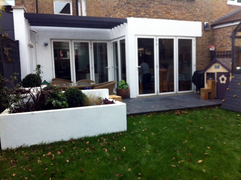 Picture of a rear garden in Clapham