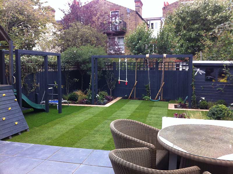 Picture of a Clapham family garden