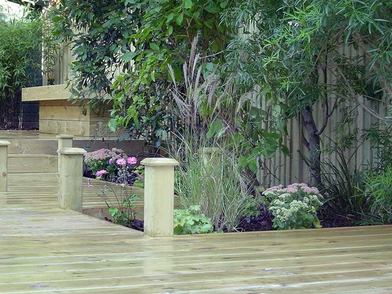 Rachel Hartley Islington Garden with Decking