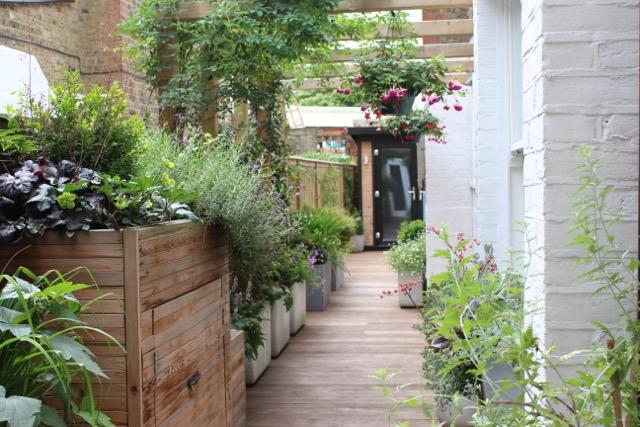 Side Return Garden Transformed in Balham designed by Rachel Hartley